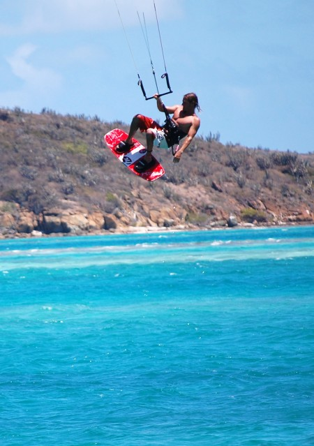 Airborne Kite Boarder
